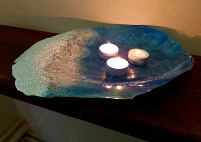 Wave Tealight Holder